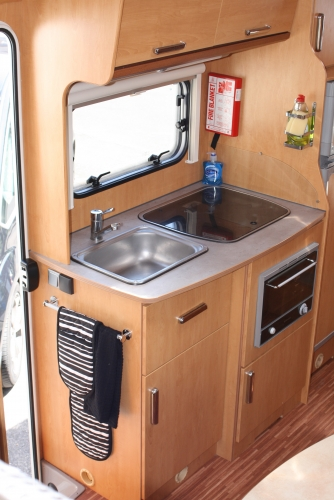 Model Auto Roller 747  6 Berth Motorhome Hire From Wests Motorhome Hire UK